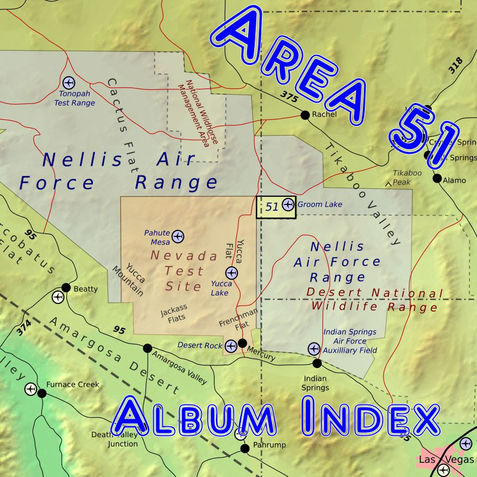 Area 51 Album Index