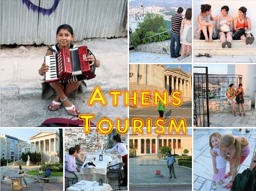 Athens Tourist Sites (except the Acropolis)