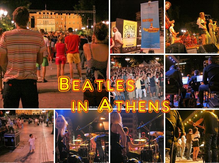 Beatles Concert in Athens
