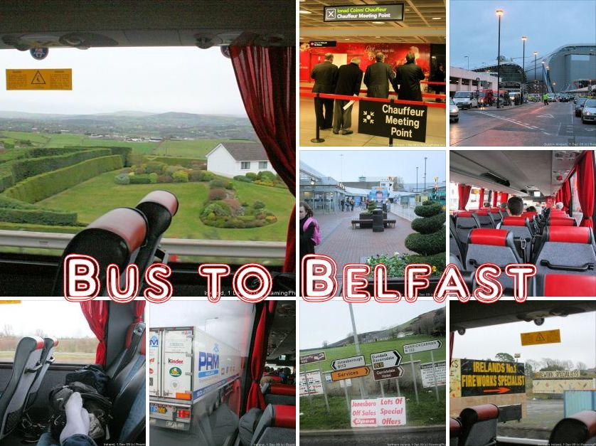From Dublin to Belfast by Bus