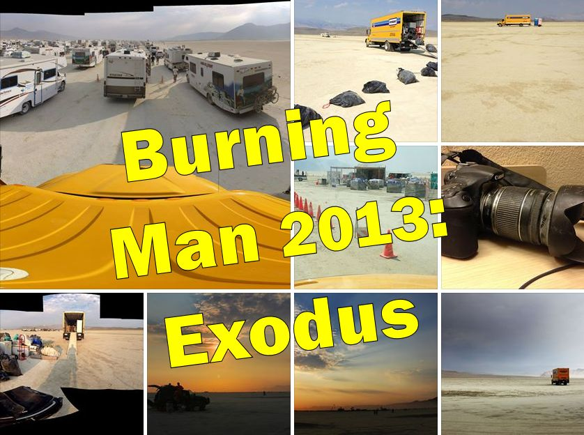 Burning Man 2013 - Exodus