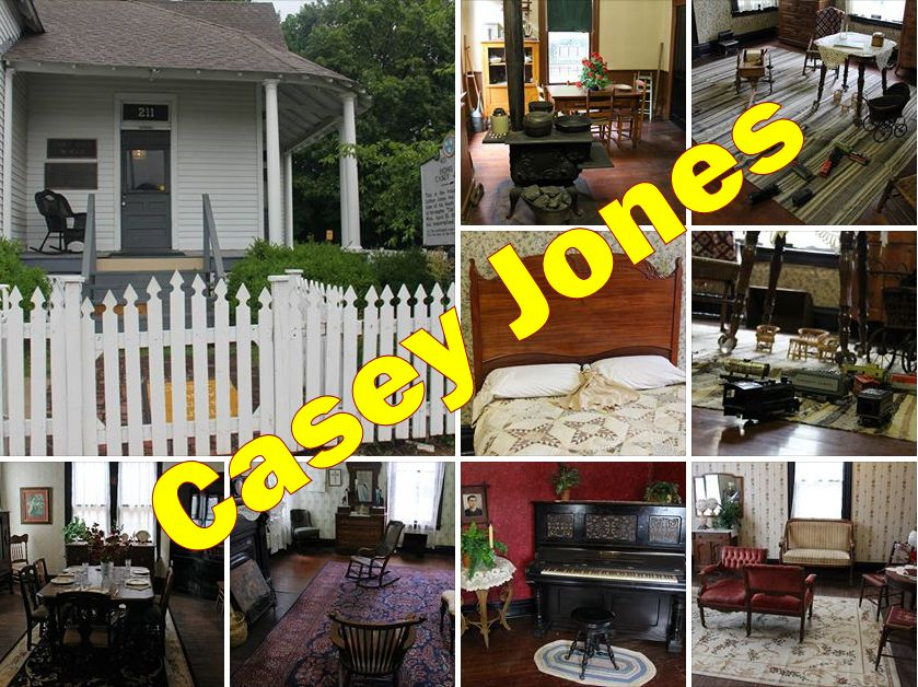 Casey Jones Home and Museum, Jackson, Tennessee (July 30, 2013)