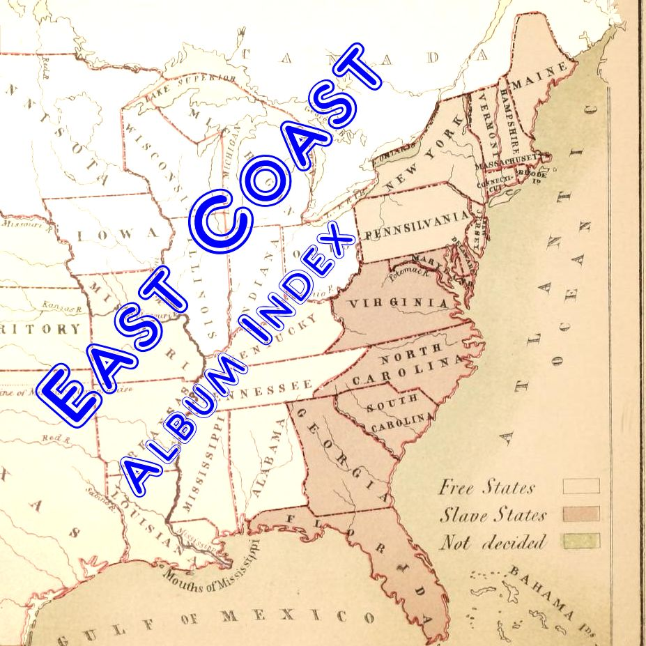 East Coast USA Album Index