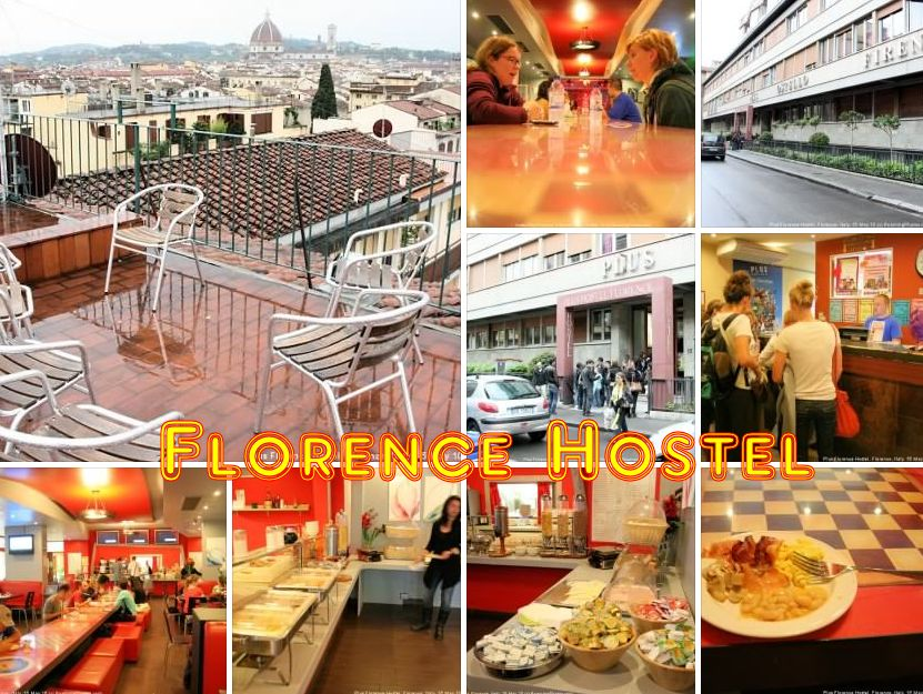 Hostel in Florence, Italy