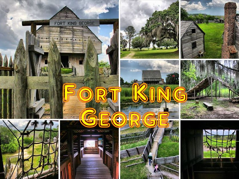 Fort King George, Georgia