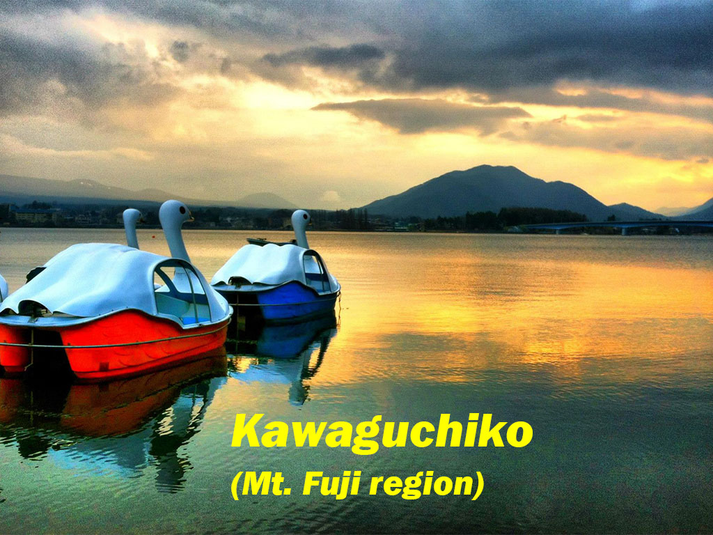 Lake Kawaguchiko, Japan (Base of Mt. Fuji)