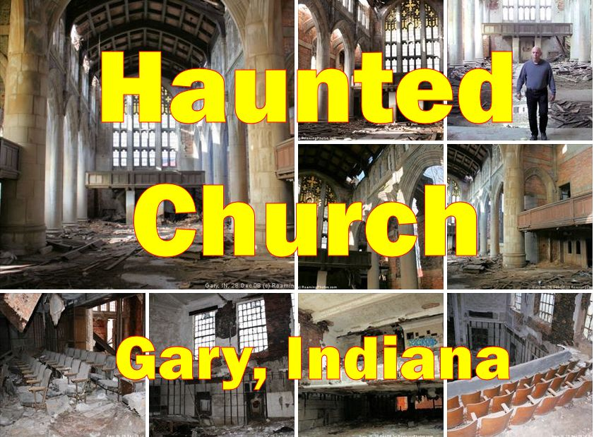 Abandoned Church in Gary, Indiana