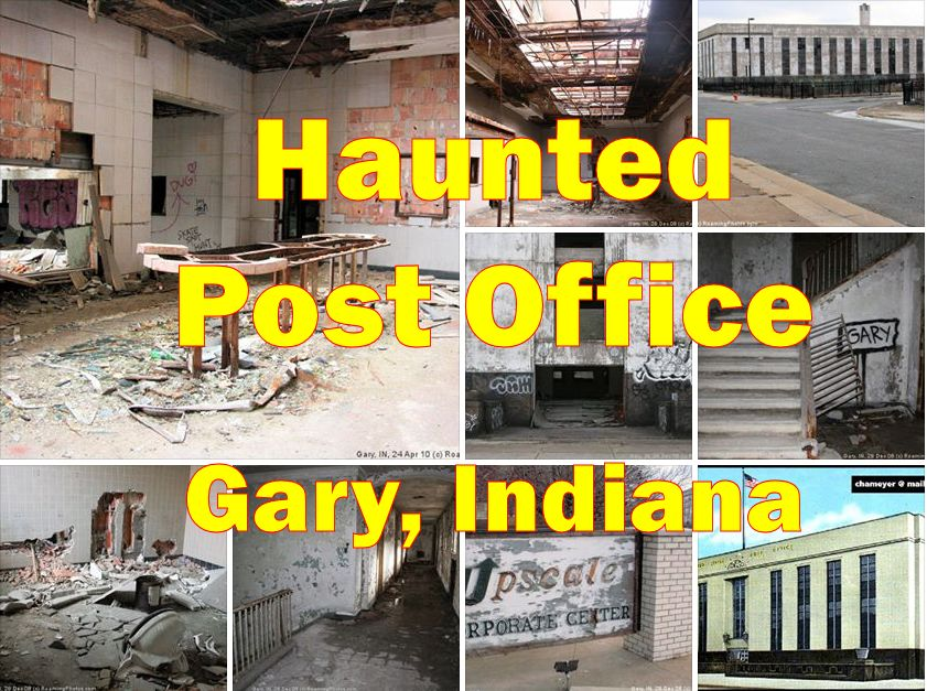 Abandoned Post Office in Gary, Indiana