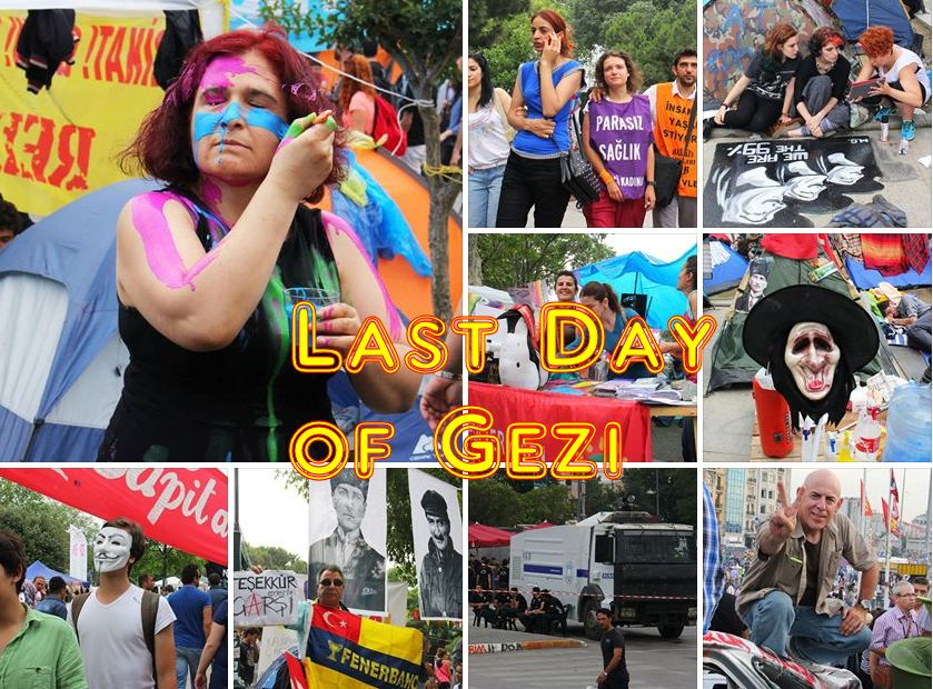 Istanbul Protests: Last Day of Gezi Park, June 15, 2013