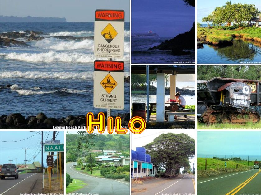 Hilo Coast, Big Island of Hawaii