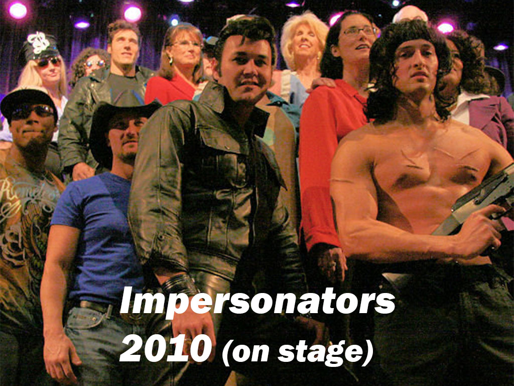 Las Vegas Celebrity Impersonator's Convention 2010 On-Stage