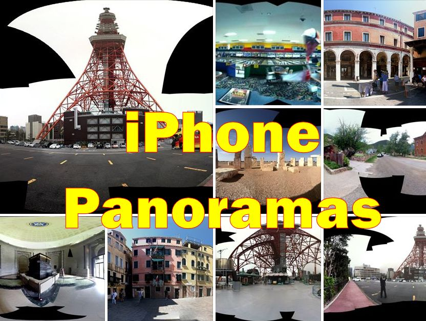 iPhone 360° Panoramas from Around the World (interactive Photosynths)