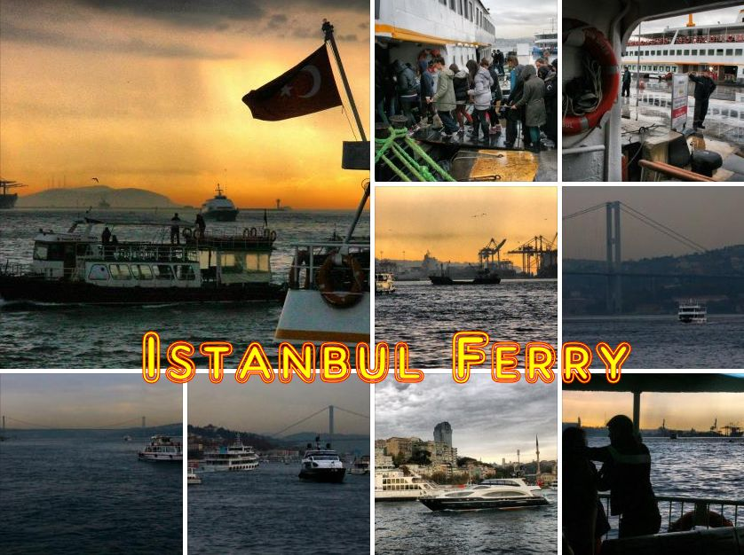 Ferry to the Princes Islands, Istanbul
