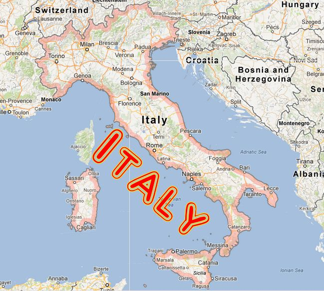 Italy Album Index