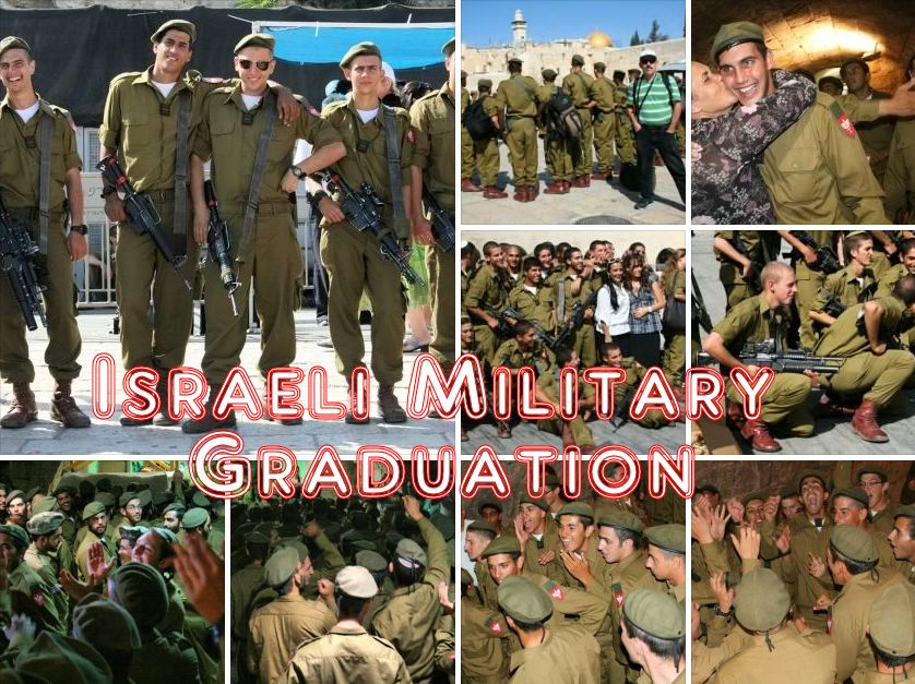 Jerusalem IDF Graduation