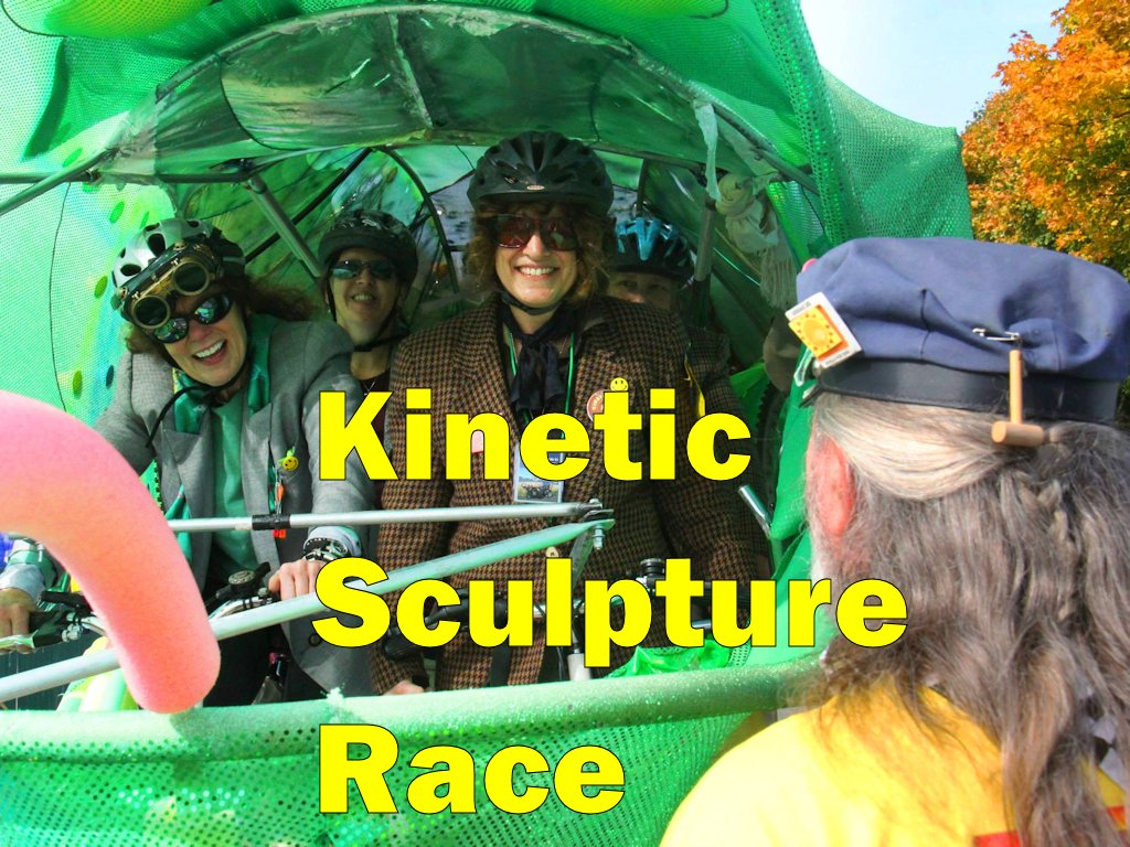Port Townsend Kinetic Sculpture Race 2013