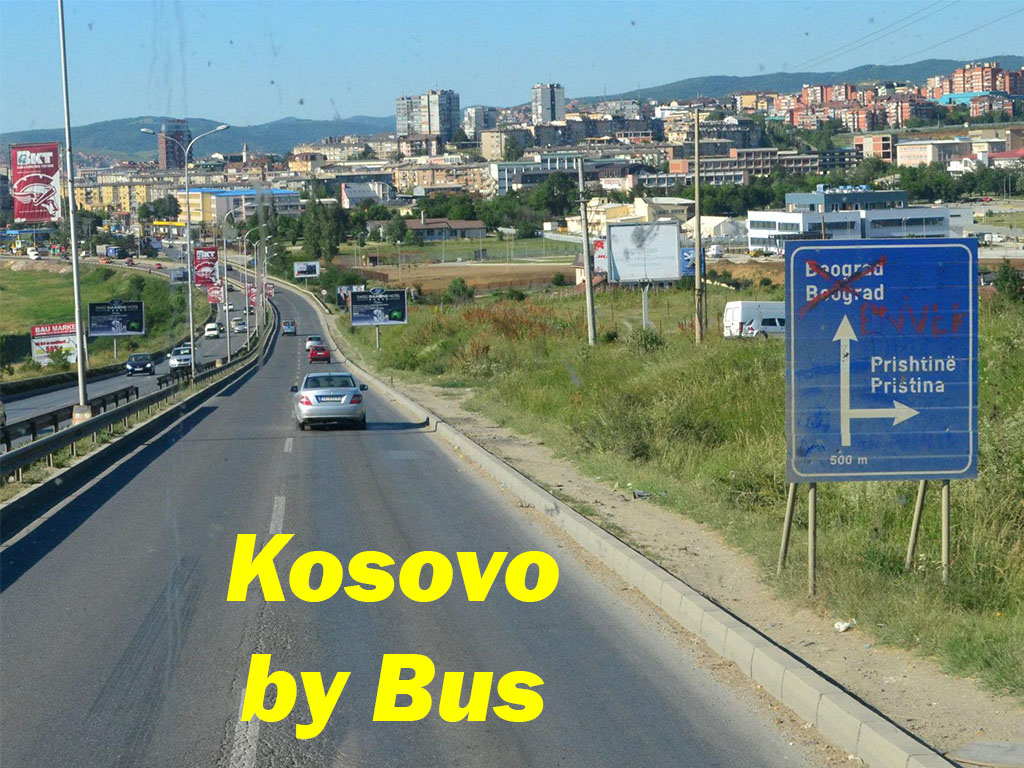 Kosovo By Bus