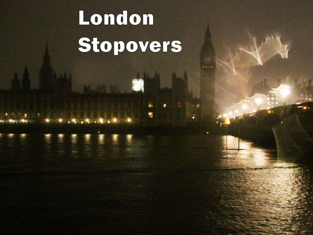 London Stopovers, 2013-2014