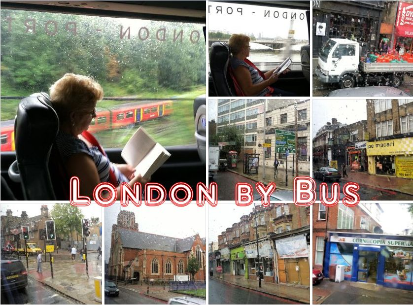 Outskirts of London by Bus