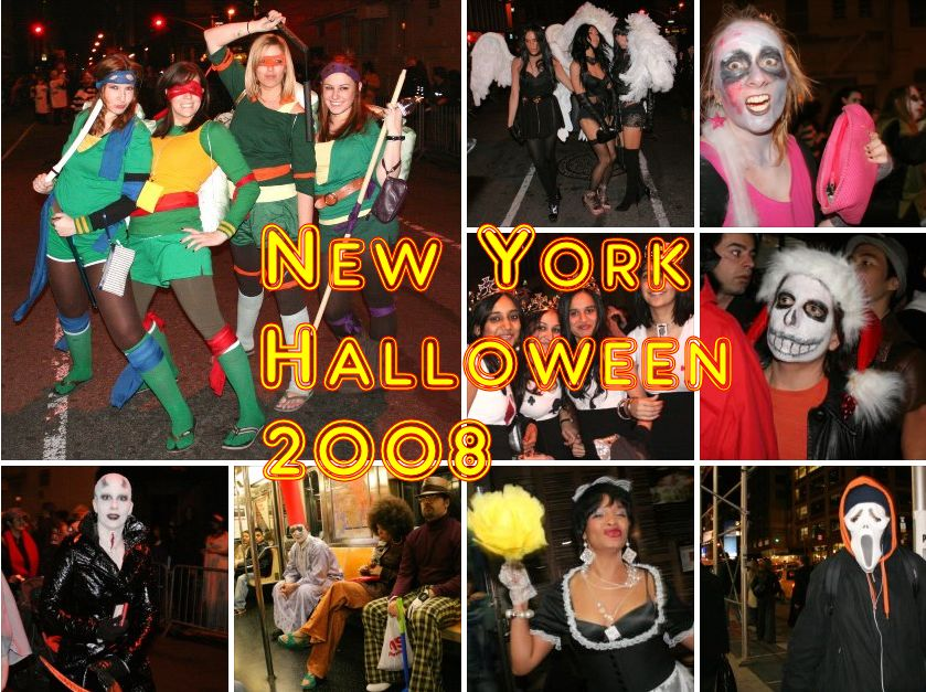 Halloween 2008 in New York