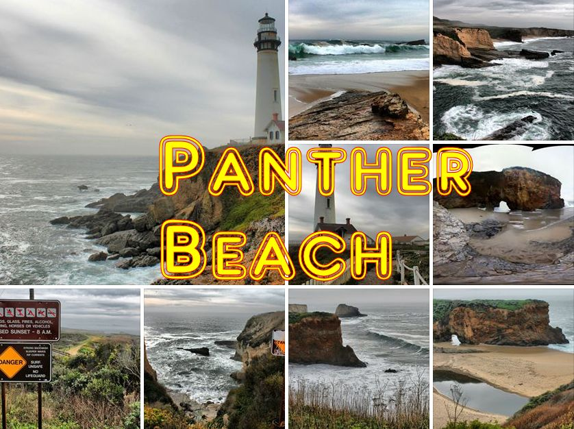 Panther Beach & Lighthouse