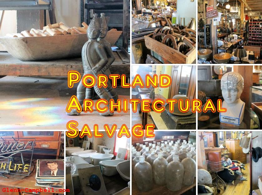 Portland Architectual Salvage, Maine
