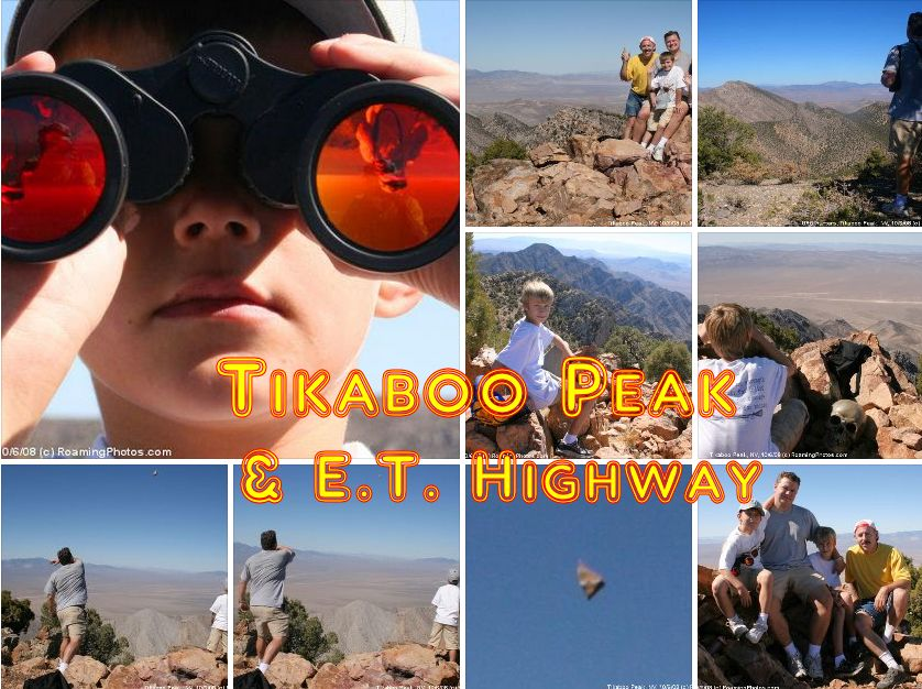 Tikaboo Peak - Area 51 Viewpoint