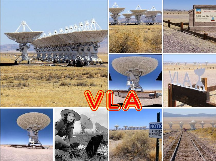 Very Large Array Radiotelescope, New Mexico