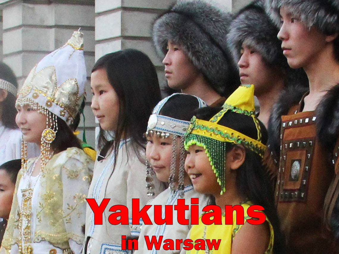 Yakutians in Warsaw (Oct. 28, 2013)