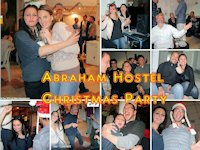 Christmas Party at the Abraham Hostel, Jerusalem