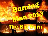 Burning Man 2013 - The Man Burns