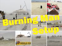 Burning Man 2013 - Setup
