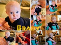 My Nephew Brady at Six Months