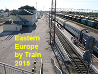Eastern Europe Train Trip 2015 - Kiev to Sofia