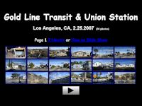 Gold Line to Union Station, Los Angeles (Feb. 2007)