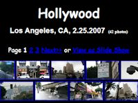Hollywood, California (Feb. 2007)