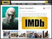 Glenn on Internet Movie Database