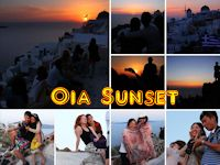 Oia Sunset, Santorini, Greek Islands