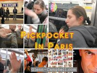 Pickpocket on the Paris Metro