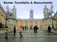 Fountains and Monuments of Rome