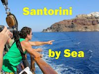 Santorini by Sea (maritime portion of Volcano tour)