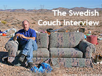 Swedish Couch Interview in Nevada 2008