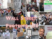 Protests on Wall Street, Sept. 27, 2008