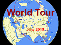 World Tour - June 2015