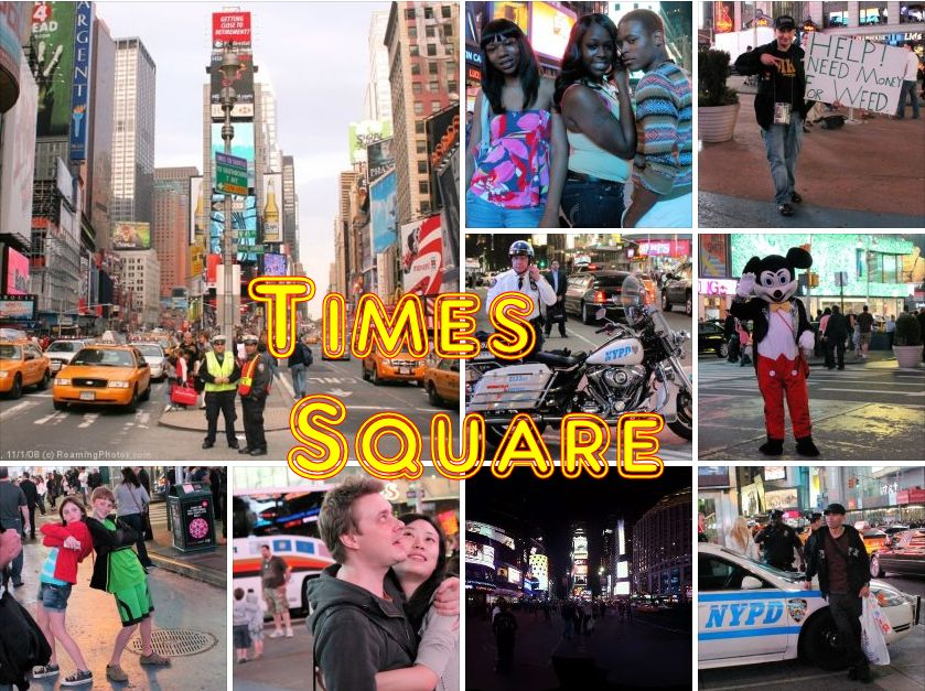 times square new york photo album by glenn campbell. Black Bedroom Furniture Sets. Home Design Ideas