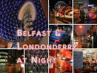 Belfast and Londonderry at Night, Northern Ireland
