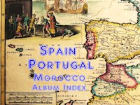 Spain, Portugal & Morocco Album Index