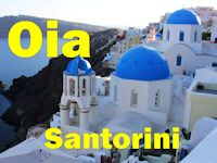Oia, Santorini, Greek Islands