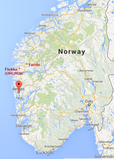 WitchHunt In Norway My Tiny Little War With United World College - Norway map ls 2013